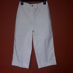 Ralph Lauren white cropped pants